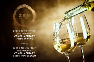 ZEN Free Wine Offer