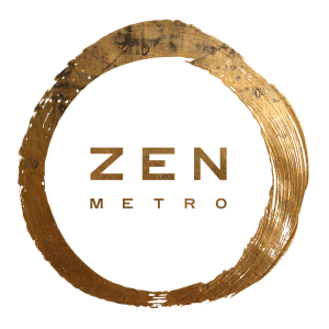 Zen Metro Logo-Brass transparent